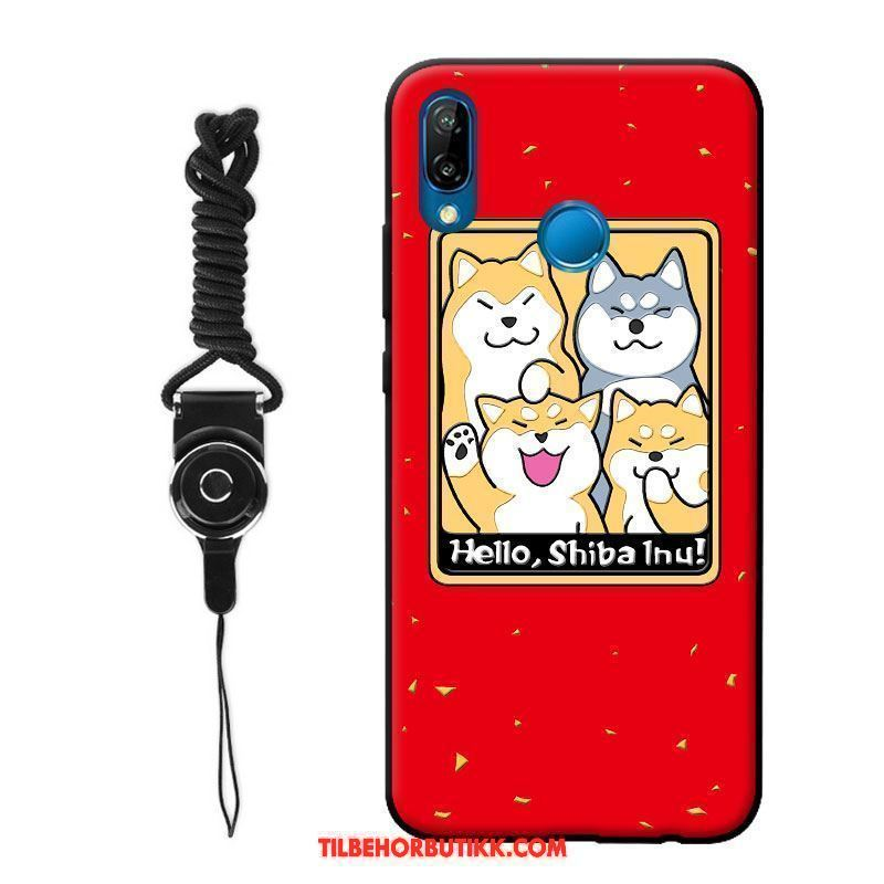 Huawei P20 Lite Deksel Nubuck Joyous Ungdom Cartoon Lovers Billige