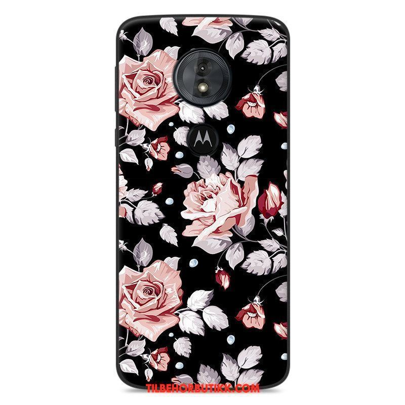 Moto E5 Deksel Silikon Cartoon Mobiltelefon Anti-fall Myke Etui Billige