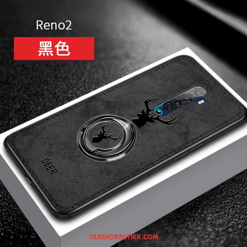 Oppo Reno 2 Deksel High End Beskyttelse Ring Tynne Net Red Etui Billig