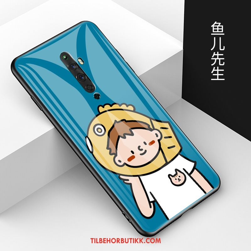 Oppo Reno 2 Z Deksel Motemerker Mobiltelefon Cartoon Lovers Anti-fall Salg