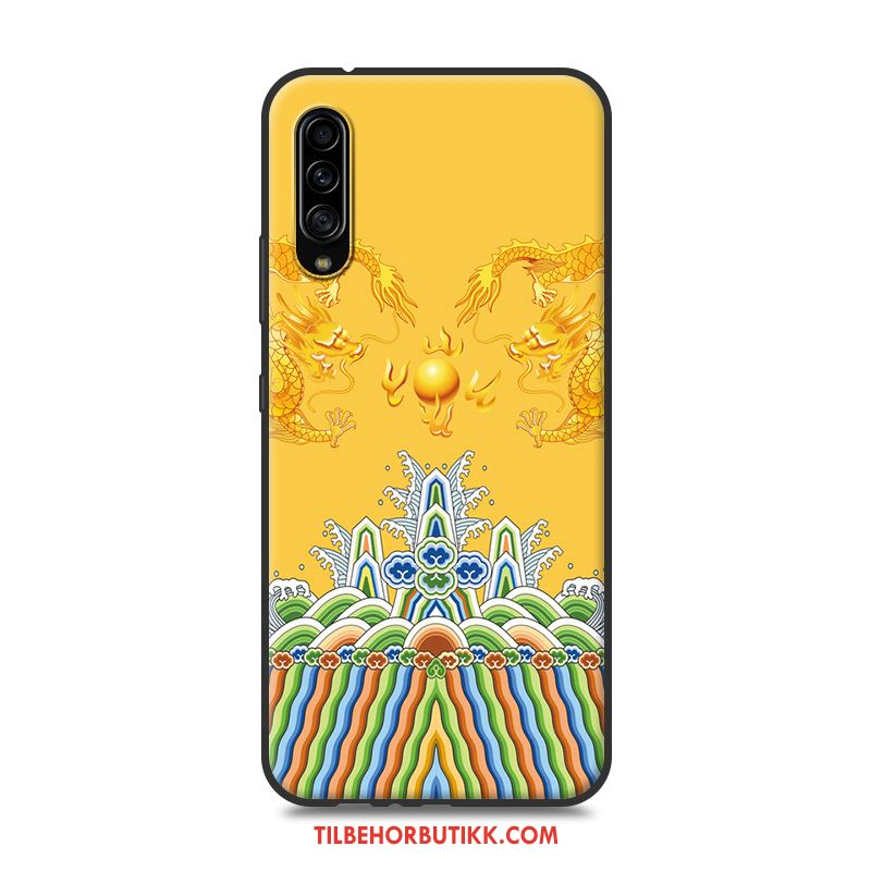 Samsung Galaxy A90 5g Deksel Mobiltelefon Gul Lovers Stjernene Cartoon Billig