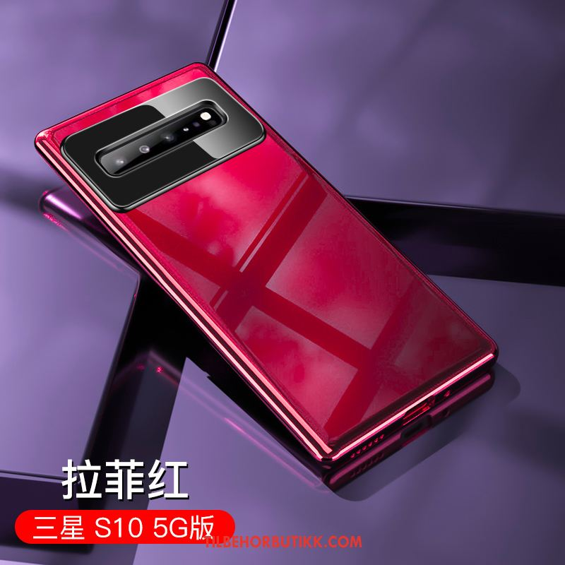 Samsung Galaxy S10 5g Deksel Rød Lovers Net Red Anti-fall Nye Kjøpe